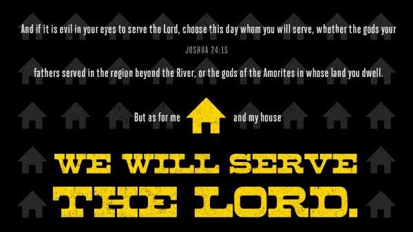 Bible Verse Joshua 24:15