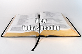 Tody's Bible Reading