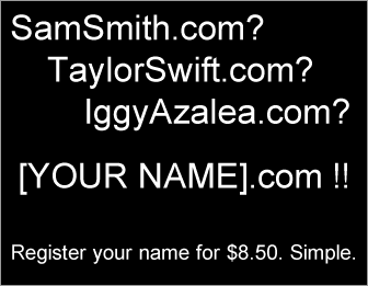 Register your name